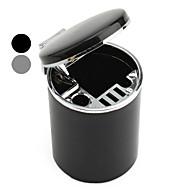mini posacenere delicato per auto (nero / argento)