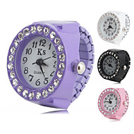 Women's Alloy Analog Ring Watch with Diamond (Assorted Colors)