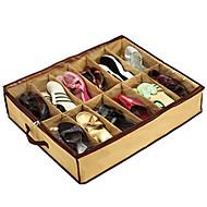 transparante 12 compartiment schoen opbergtas