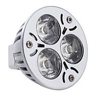 Spot Lampen MR16 GU5.3 3 W 270 LM 6000K K 3 High Power LED Natürliches Weiß DC 12 V