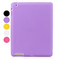 ipad 2/3/4 (çeşitli renk) için koruyucu silikon çanta