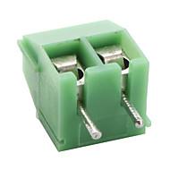3,5 mm na posição 2 blocos de terminais (50 peças por pacote)