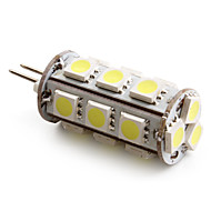G4 1.5 W 18 SMD 5050 110 LM Natural White T Corn Bulbs DC 12 V
