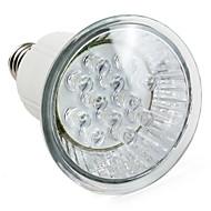 1W E14 / E26/E27 Faretti LED MR16 12 LED ad alta intesità 60 lm Bianco AC 220-240 V