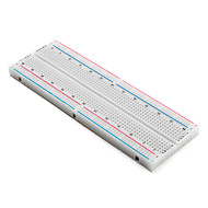 Plug-in Breadboard Tanpa Solder, 830 tie-points, 4 power rails