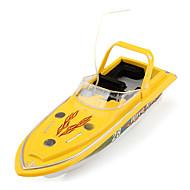 27MHz mini-télécommande bateau de contrôle de vitesse (jaune)