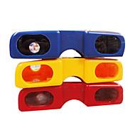 kirkas väri lasit tyyli kannettava pimeänäkökiikareita (random väri)