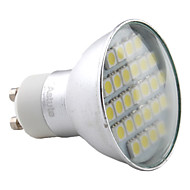 4W GU10 Spot LED MR16 27 SMD 5050 220 lm Blanc Chaud AC 100-240 V