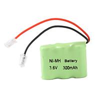 Ni-MH аккумулятора типа AAA (3,6 В, 300 мАч)
