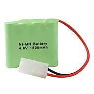 Ni-MH AA batteri (4.8V, 1800 mAh)