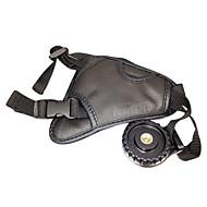Ny Leather hånd Gripestropp for Nikon DSLR D400 D300 D5100 og mer
