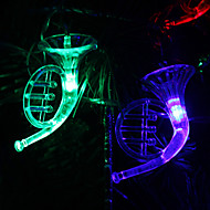 6M 32-LED Musical Instrument Shaped Kleurrijke Light String Fairy Lamp for Christmas (220V)