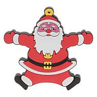 4GB di Natale Santa Clause 3 USB 2.0 Flash Drive