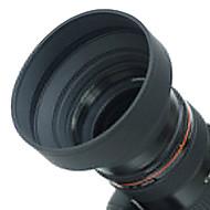 Bois 72mm Objectif caoutchouc pour grand angle, standard, téléobjectif