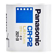 Panasonic Lithium 6V Foto Strömförsörjning Batteri CR-P2
