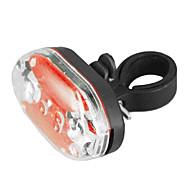 9-LED 7-Mode imperméable rouge feu arrière de sécurité du vélo antichoc (2 piles AAA)