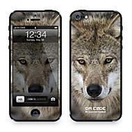 "Da koodi ™ Skin iPhone 4/4S: ""Wolf"" (Eläimet Series)"