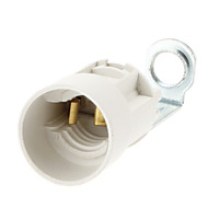 E14 Base 80mm Candle pære Socket Lamp Holder