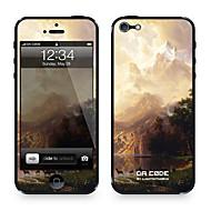 """دا كود ™ الجلد ل 4/4S فون: """"من بين سلسلة جبال سييرا نيفادا، كاليفورنيا"""" من قبل ألبرت Bierstadt (سلسلة روائع)"""
