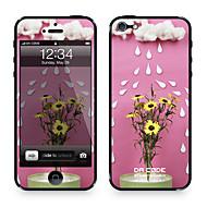 """Da Kode ™ Skin for iPhone 4/4S: """"Blomster i Rain"""" (Planter Series)"""