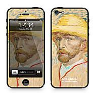 """Da Kode ™ Skin for iPhone 4/4S: """"Selvportrett"""" av Vincent van Gogh (Mesterverk Series)"""