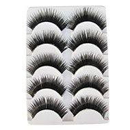 5 Pairs European Black False Eyelashes 324