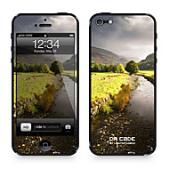 "Codice Da ™ Pelle per iPhone 4/4S: ""River tranquilla"" (Nature Series)"