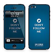 """Da Kode ™ Skin for iPhone 4/4S: """"Ikke Følg meg på Twitter"""" av Steven Lin (Creative Series)"""