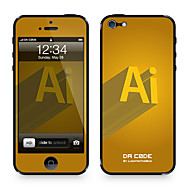 "Da Kode ™ Skin for iPhone 4/4S: ""Visual Designers AI Logo"" av Steven Lin (Creative Series)"