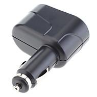 Zwei-Wege-Auto-Zigarettenanzünder-Splitter Doppelstecker für iphone 6 iPhone 6 plus, Handys und andere (12 V DC)