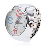Unisex Flower Style Alloy Analog Quartz Ring Watch (Silver) Cool Watches Unique Watches