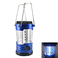 Hot Sale Luminance Adjustable 12 LED Camp Light (Without Battery) S180016 (Blue)