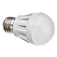 Лампа светодиодная шарообразная E27 3.5W 30x3014smd 280LM теплый белый свет (220V)