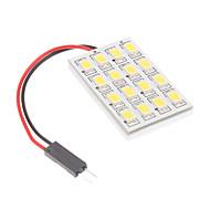 T10/BA9S/Festoon 3.5W 16x5730SMD Natural White Light Bulb para lâmpada de leitura do carro (12V) LED