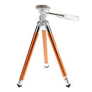 Fotopro FY-583 Trépied de voyage pour l'appareil photo (rose / orange)
