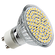 GU10 4W 80 SMD 3528 300 LM Warm White MR16 LED Spotlight AC 220-240 V