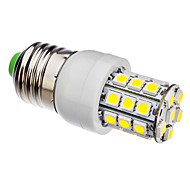E26/E27 3.5 W 30 SMD 5050 360 LM Natural White Corn Bulbs AC 110-130/AC 220-240 V