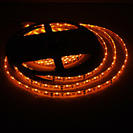 20W 5M impermeable 300x335SMD Amarillo Luz LED Strip Lamp (DC 12V)
