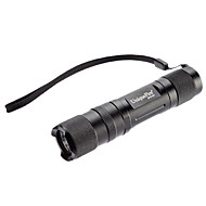 Uniquefire S10-UV 1-Mode LED Flashlight rayons ultraviolets (395-410nm, 1x14500/AA, Noir)