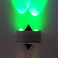 Birleştirilmiş LED Modern/Çağdaş Eloktrize Kaplama özellik for LED Mini Tarzı Ampul İçeriği,Ortam Işığı Duvar ışığı