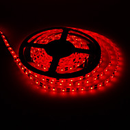 5M 15W 300x3528SMD Red Light LED Strip Lamp (DC 12V)
