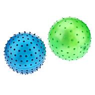 Plastique souple Spiky boule ronde (couleur aléatoire)