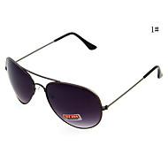 UV400 metal piloto completa las gafas de sol del hombre (varios colores)
