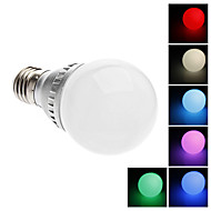 E26/E27 2 W Integrate LED LM Color-Changing/RGB A Remote-Controlled Globe Bulbs AC 220-240 V