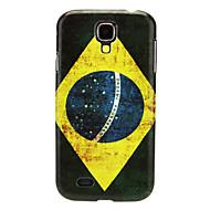 Βραζιλίας μοτίβο IMD σκληρό περίπτωση για Samsung Galaxy S4 I9500
