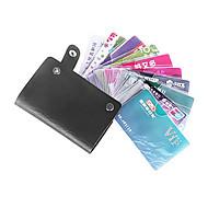 titular colorido unisex couro pu cartão de crédito