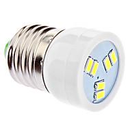 DAIWL E27 2W 6xSMD5630 180-220LM 5500-6500K Natural White Light LED Spot Bulb (220-240V)