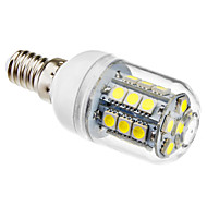 E14 3 W 27 SMD 5050 190 LM Natural White T Corn Bulbs AC 220-240 V