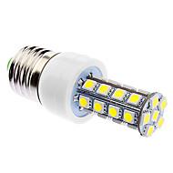 DAIWL Dimmable E27 6W 30xSMD5050 400-500LM 5500-6500K Natural White Light LED Corn Bulb (85-265V)