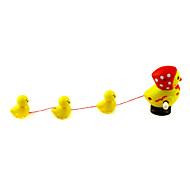 Stem Avvikling Walking Hen med 3 Chicks